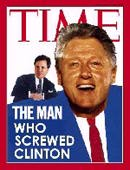 TIME cover, The Man Who Screwed Clinton
